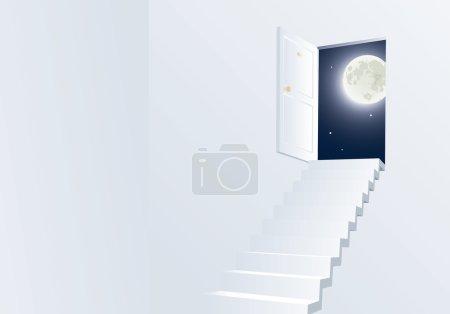 Door to th night.