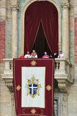 Pope Benedict XVI (Joseph Ratzinger) after he was elected.