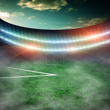 Foto de Campo de fútbol verde - Imagen libre de derechos