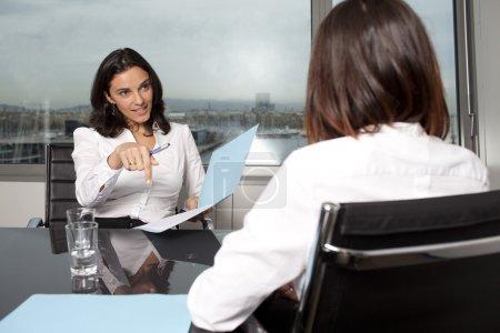 Nice job interview