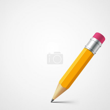 Pencil vector background. Eps 10.