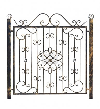 Decorative fence 3.