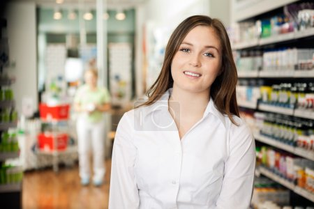 Beautiful Young Pharmacist