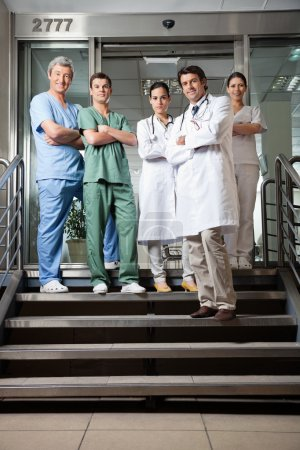 Confident Medical Professionals