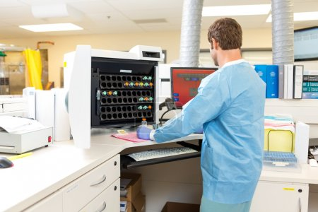 Hematology Analysis in Hospital Laboratory