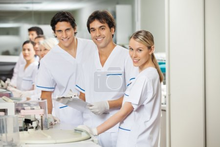 Team Of Researchers In Laboratory