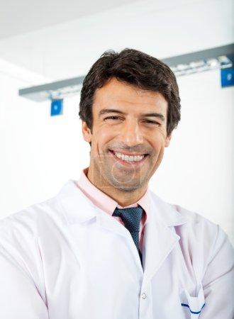 Happy Male Researcher