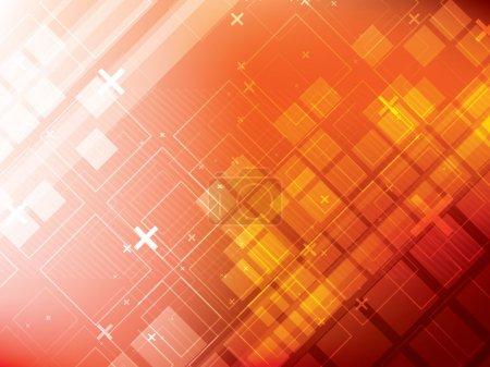 Photo pour Illustration de la technologie de fond abstraite futuriste - image libre de droit