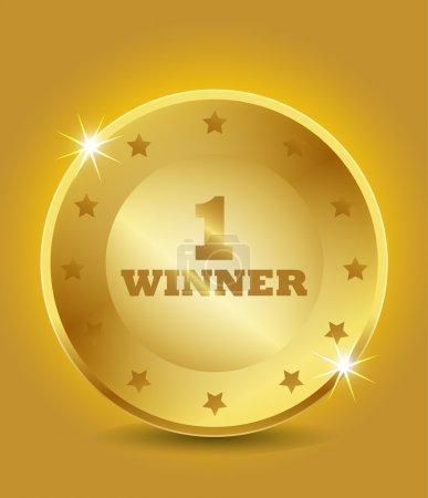 1st winner award