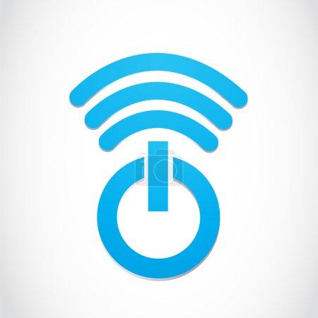 Wi-fi Power Symbol