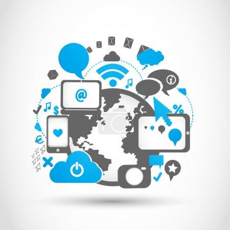 Social media connection technologies
