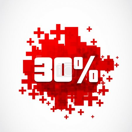 30 percent promotion