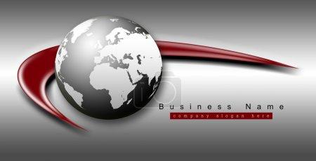 Photo pour Concept d'Internet d'affaires - image libre de droit