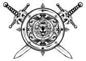 Meče a štítu