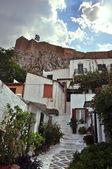 Small houses traditional anafiotika neighborhood