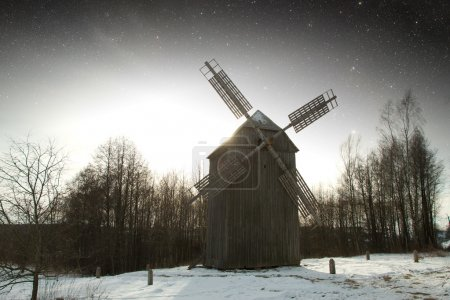 authentic 18th century village in Russia. Elements of this image