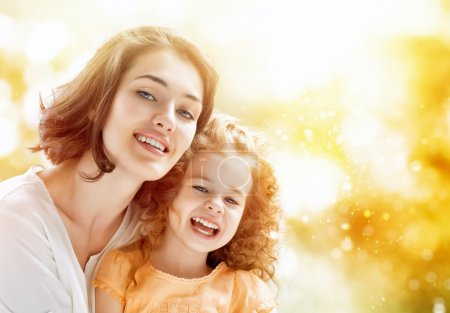 Photo for Happy mother and child together - Royalty Free Image