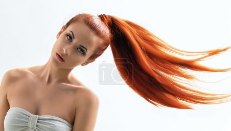 Photo for Beauty woman with long hair - Royalty Free Image