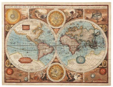 Старая карта (1626) )
