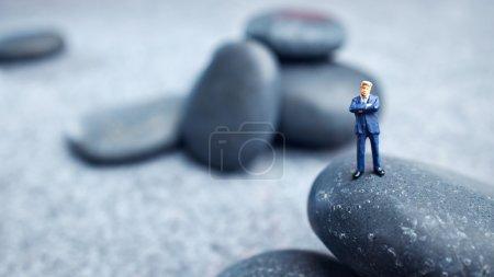 Business miniature figures