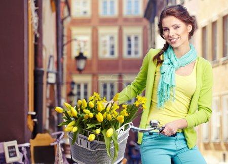 Fashion spring woman