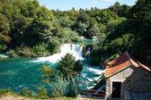 Waterfalls on Krka River