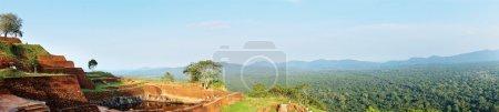 Photo for Panorama of mountain range in the sunshine day. Sri Lanka - Royalty Free Image