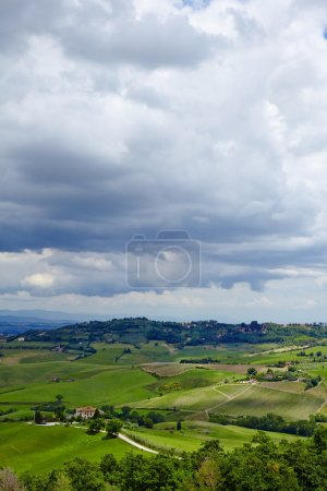 Italy Tuscan landscape