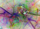 Abstrakte Fraktale Hintergrund
