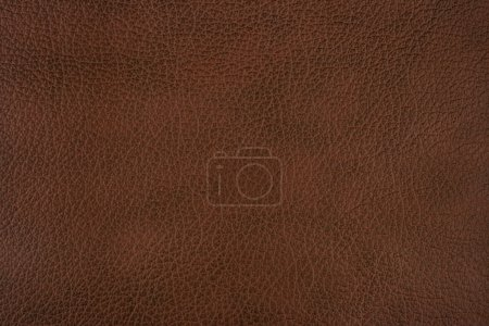 Photo for Dark brown leather texture background - Royalty Free Image
