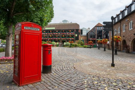 St Katharine's Dock. London, England