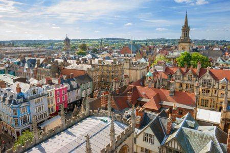 Cityscape of Oxford. England, Europe...