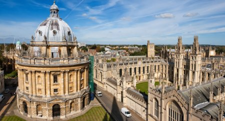 Radcliffe Camera and All Souls College, Oxford Uni...