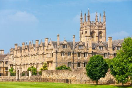 Merton College. Oxford, UK