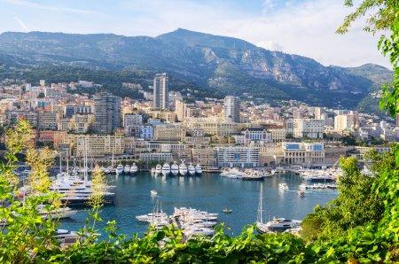 Monte Carlo harbour. Principality of Monaco