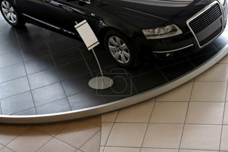 New car in showroom for sale