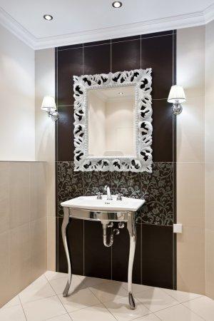 Luxury domestic room interior