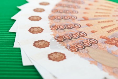 Banknotes 5,000 Russian rubles