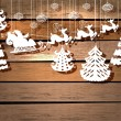 New year card for holiday design with Santa Claus ...