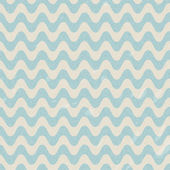 Seamless retro pattern with waves