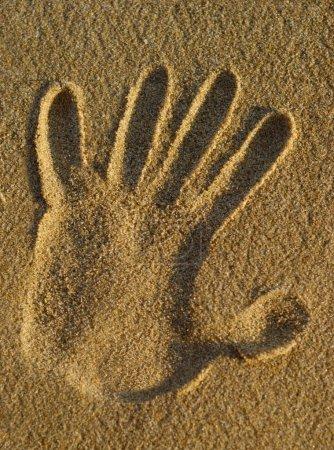Sand Hand Stamp