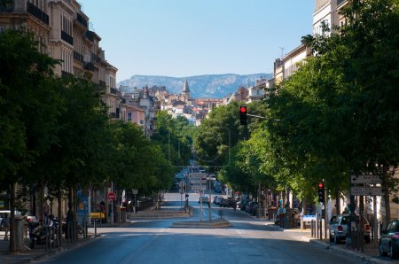 Street view in Marseilles. France