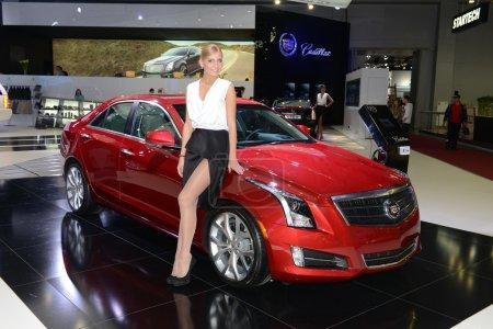 Cadillac ATS russian premiere