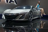 Acura nsx hybridní koncept