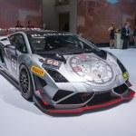 Frankfurt international motor show. Lamborghini Ga...