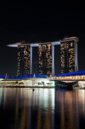 Singapore, night view.