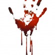 Bloody handle print,vector eps 10...