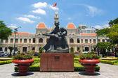 Ho či Minovo Město Hall nebo Hotel de Ville de Saigon, Vietnam