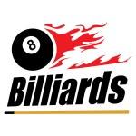 Постер, плакат: Billiards symbol