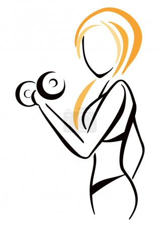 Fitness symbol